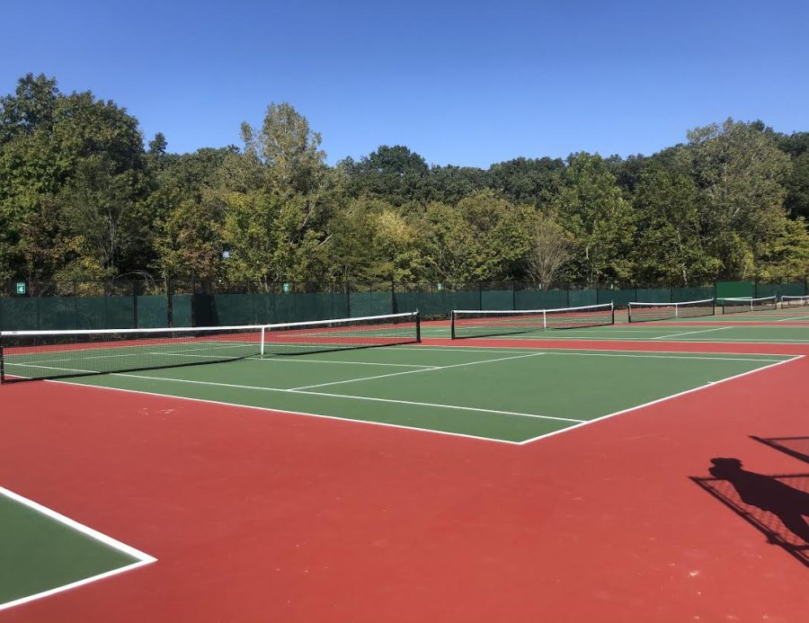 Tennis Court renovations completed