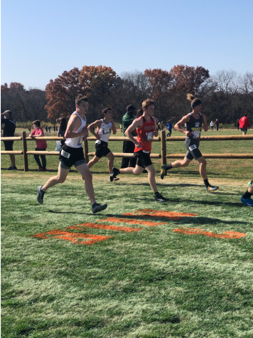 Boys cross country team finishes 14th at State